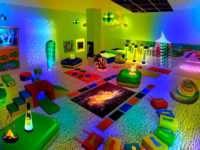 Сенсорные комнаты — новое развлечение для детей