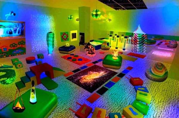Сенсорные комнаты   новое развлечение для детей