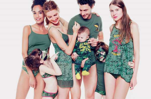 Oztas   стильное нижнее белье для всей семьи