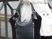 Женская кожаная сумка — солидный аксессуар
