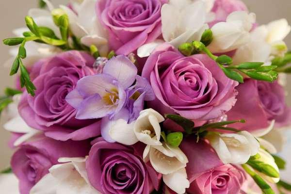 Букет цветов всегда будет уместным