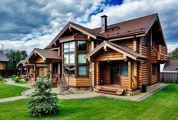 Красивые и капитальные дома из бруса