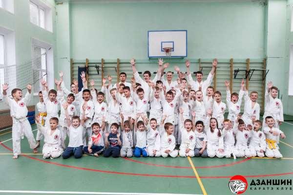Дзаншин – занятия каратэ до шотокан для детей