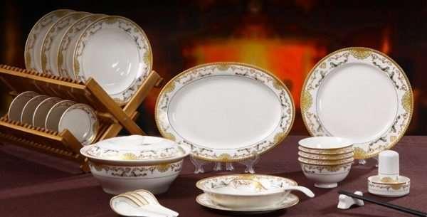 Фарфоровая посуда, ее преимущества и недостатки