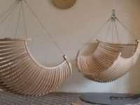 Подвесные кресла для стильного дома