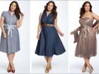 Как подобрать платье девушкам с широкими бедрами
