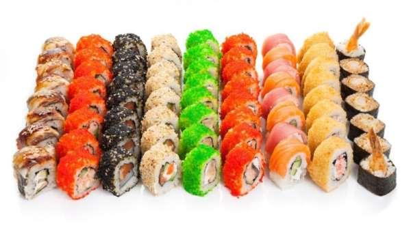 Как приготовить вкусные суши
