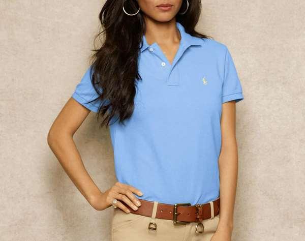 Рубашки поло или особый элемент женского гардероба