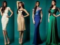 Популярные фасоны вечерних платьев