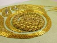 «Тянуть канитель» для золотого шитья