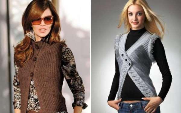 Женские жилетки – лучшее дополнение к любому образу