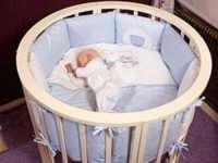 Причины повышенного спроса на детские круглые кроватки