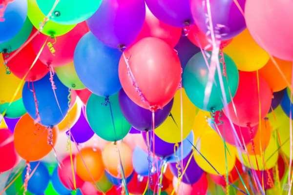 Воздушные шарики – отличное украшение для вашего праздника
