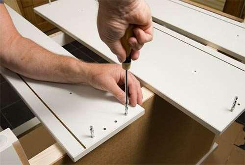 Сборка мебели для дома работа для специалистов