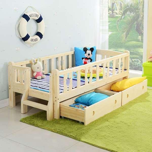 Необычная кровать для любимого ребенка