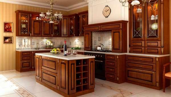 Кухня для дома и ее мебель