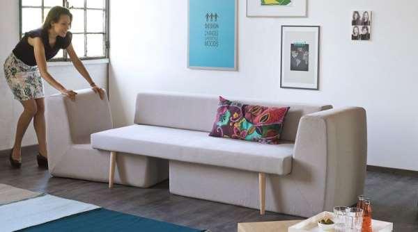 Экономия места с помощью мебели трансформер