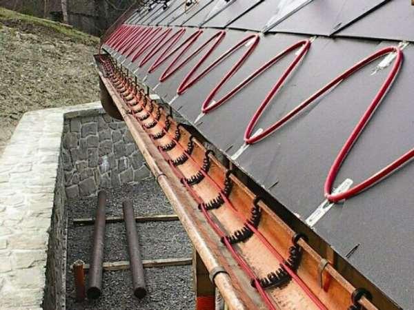 Кабельный обогрев водостоков – продление безремонтного периода службы кровли
