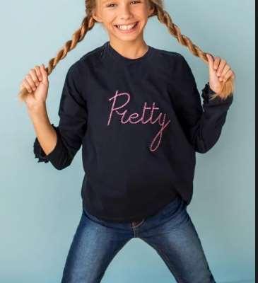 Лонгсливы – оригинальные наряды для маленьких модниц