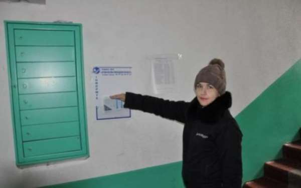 Ровнооблводоканал установил таблички с информацией в 100 домах