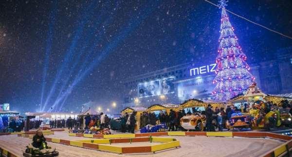 Администрация Харькова поделилась планом новогодних мероприятий