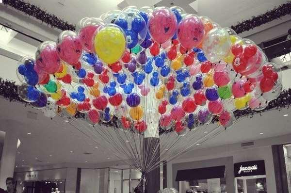 Варианты использования шаров при организации и праздновании дня рождения