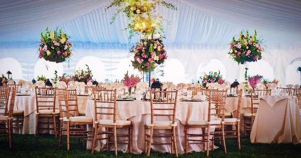 Стулья Кьявари – роскошное дополнение любой свадьбы