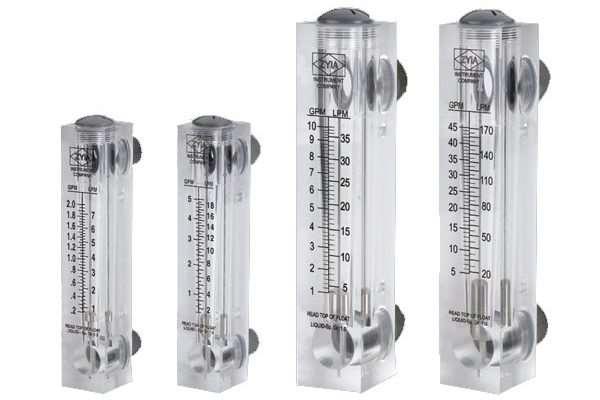 Ротаметры – приборы для изменения объемного расхода жидкостей и газов