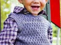 Жилет, безрукавка на мальчика 2 лет — стильный предмет гардероба