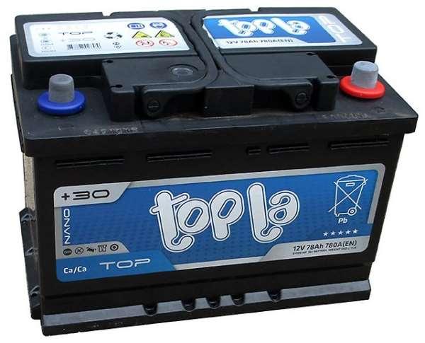 Аккумуляторы «TOPLA»   бескомпромиссное качество и надежность