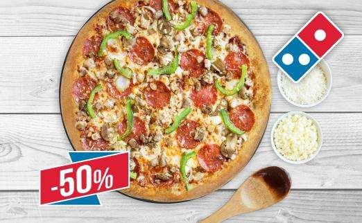 Промокод «Доминос Пицца»   заказывайте любимое блюдо с экономией