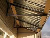 Крыша на балкон – надежная защита от солнца и атмосферных осадков