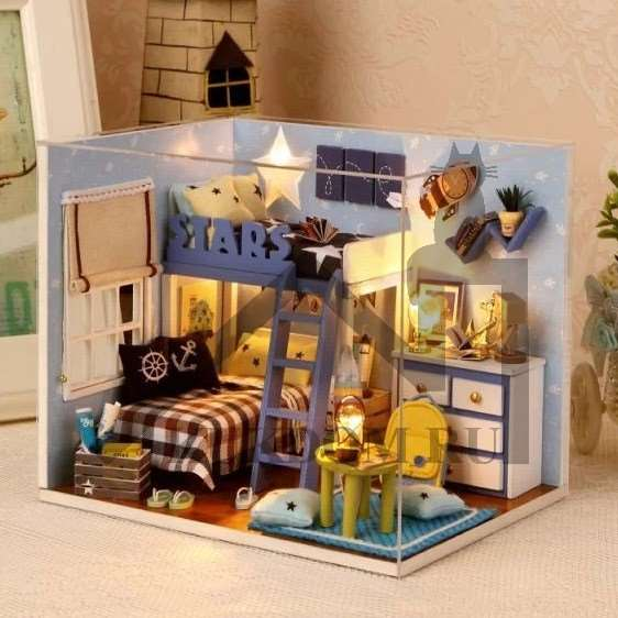 Румбокс – точные копии домов и комнат в миниатюре