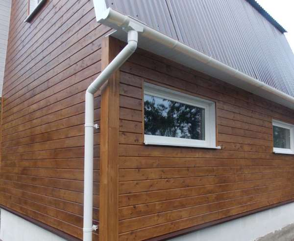 Имитация бруса – лучший материал для обшивки зданий и конструкций