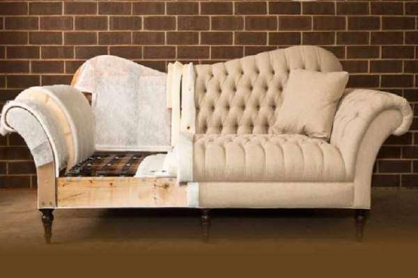 Перетяжка мебели натуральной кожей – верните старой мебели превосходный вид