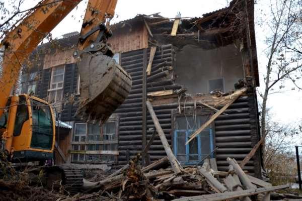 Демонтаж частного дома – в каких случаях нужно получать разрешение