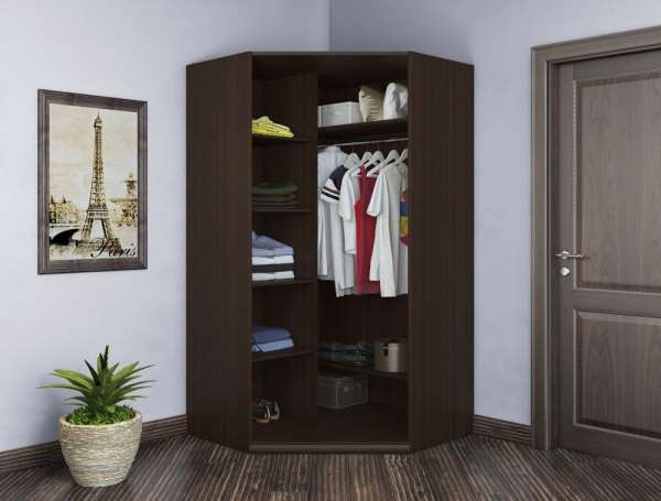 Угловой шкаф – лучшее сочетание выгодной цены и стильного дизайна