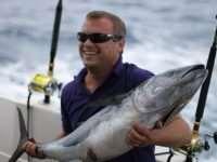 Ловля тунца в Испании во время сезона рыбалки