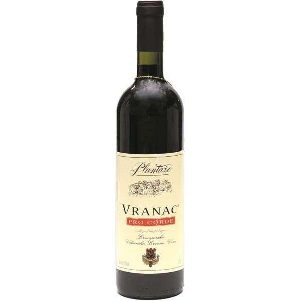 Plantaze Vranac «Pro Corde»   вкуснейшее красное сухое вино