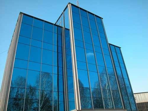 Способы фасадного остекления из алюминиевого профиля