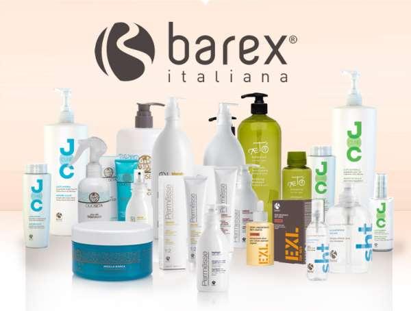 Итальянская косметика для волос Barex