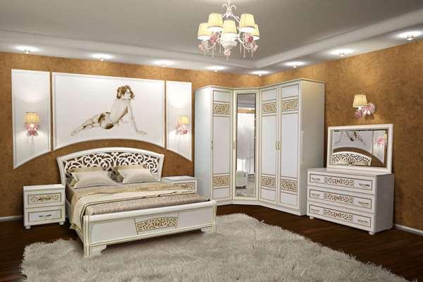 Мебель для спальни под любой интерьер от фабрики «Dana»