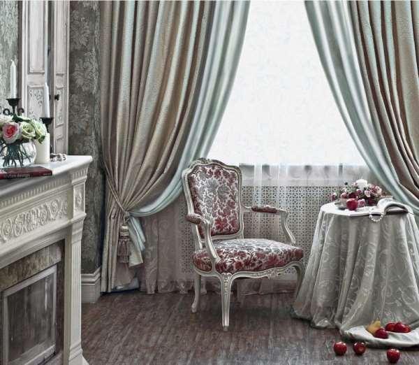 Дизайн штор в интерьере