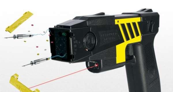 Стреляющий электрошокер Taser — лучший аргумент при самообороне