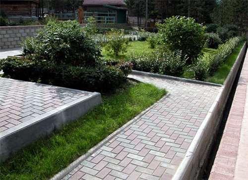 Садовый бордюр от компании «УЖСТРОЙ»