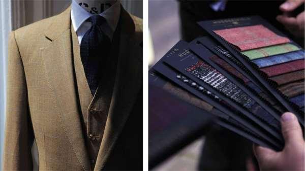 Пошив стильных мужских костюмов на заказ
