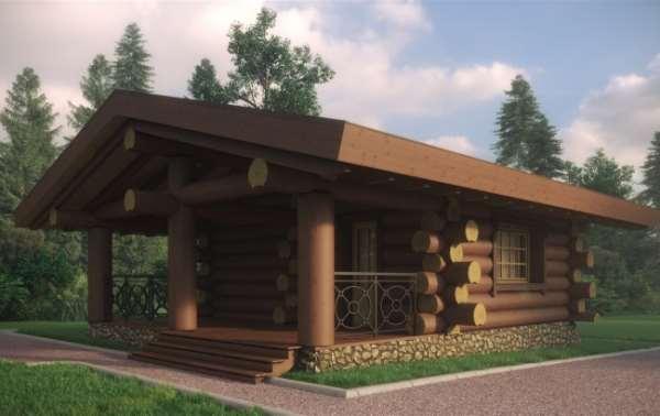 Проекты деревянных бань от «Дома на век»