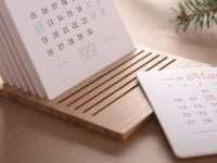 Настольные календари как дополнение интерьера