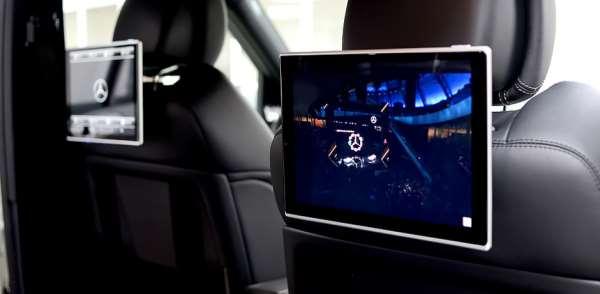 Мониторы типа «Original Design» для автомобилей Mercedes