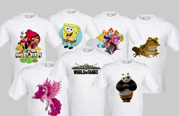 Печать на футболках: какие варианты популярны?